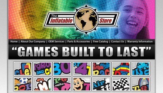 The Inflatable Store page