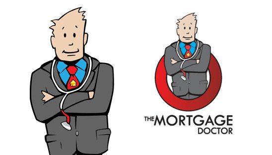 Mortgage Doctor Logo Design