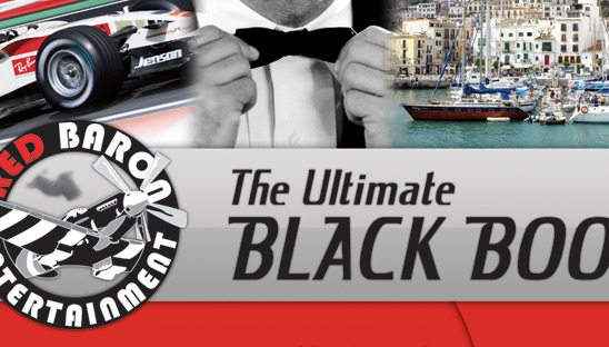 Red Baron Postcard Design