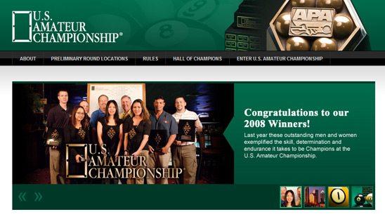Championship Website Design