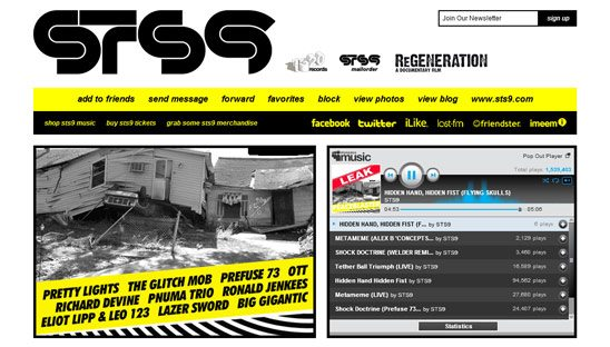 Re-Design Myspace Page