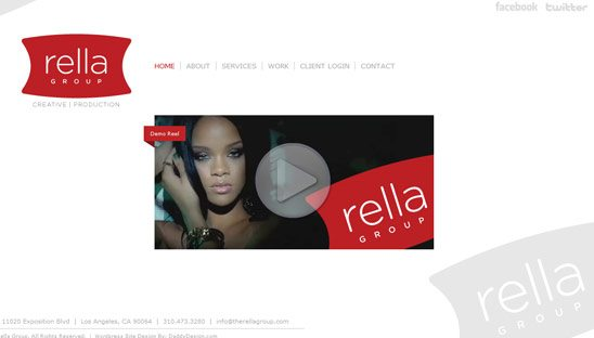 Rella Group Wordpress Design