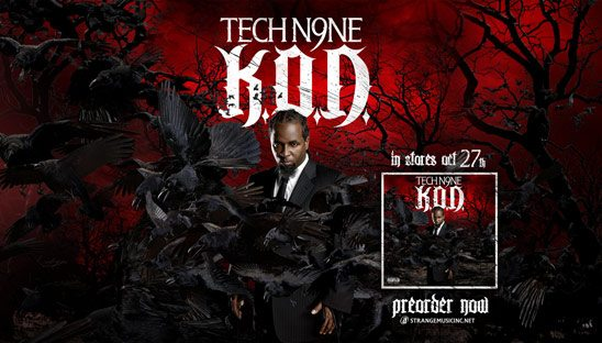 Tech N9ne KOD Myspace and Twitter Designs