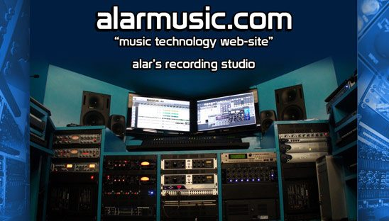 Alar Music Company Myspace Design