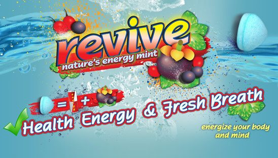 Revive Mints Myspace Design