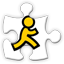 aim social network icon