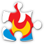 feedburner social network icon