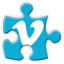 vimeo social network icon