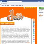 Facebook Design Sample