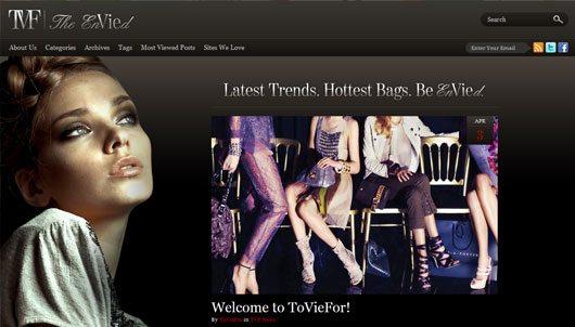 ToVieFor Wordpress Blog Design