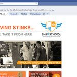 Ship2School Static facebook Design