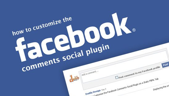 How to Customize the Facebook Comments Social Plugin on a Static FBML Tab