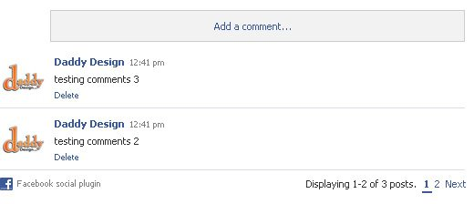 Step 1: Get Your FBML Comments Social Plugin Code