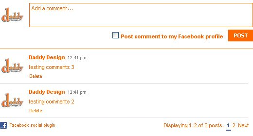 Step 6: Styling the Comment Form Post Button