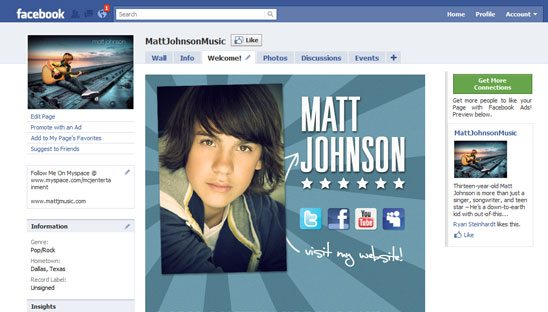 Matt Johnson FBML Facebook Design