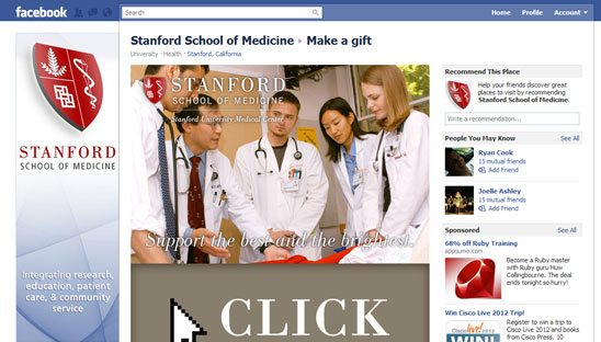 Stanford school facebook