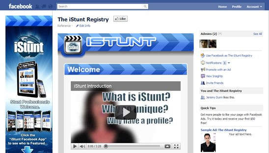 iStunt Social Media Design Package
