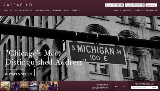 hotel wordpress design