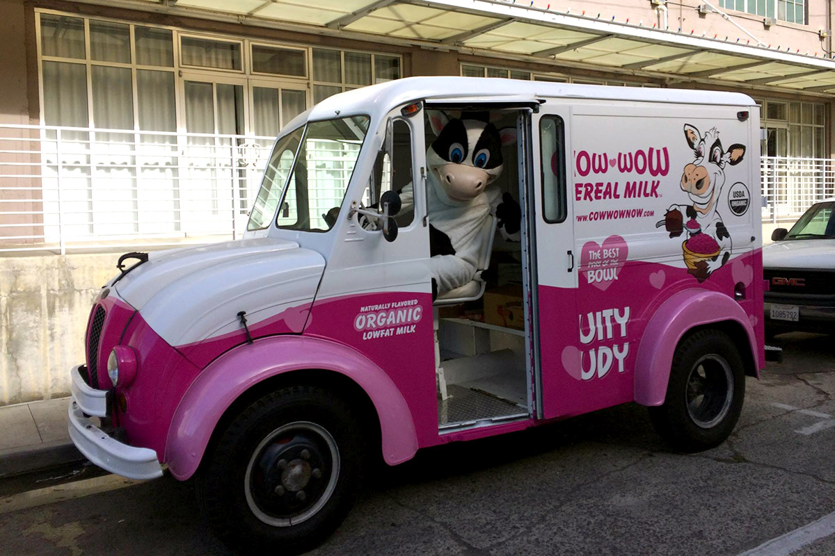 Print - Milk Truck Wrap