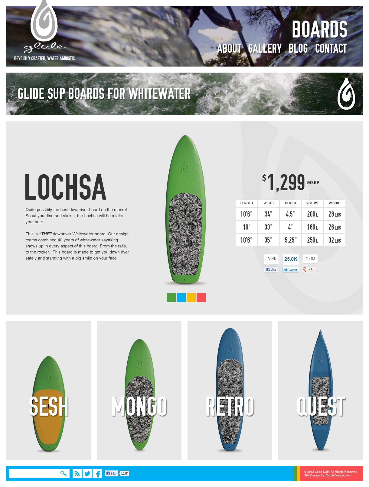 Product Page - Lochsa