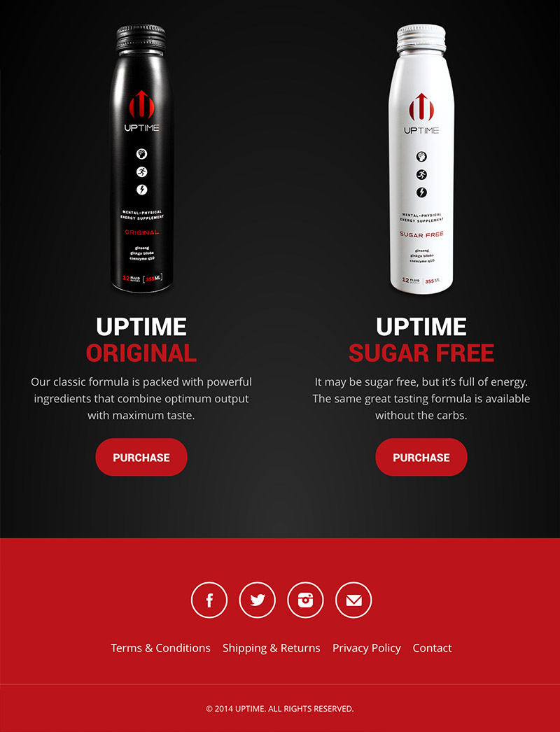 Tablet Responsive - Products