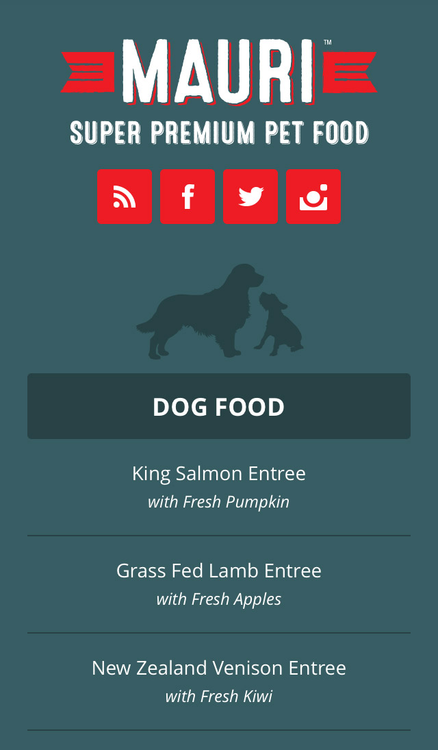 Mobile Responsive Footer