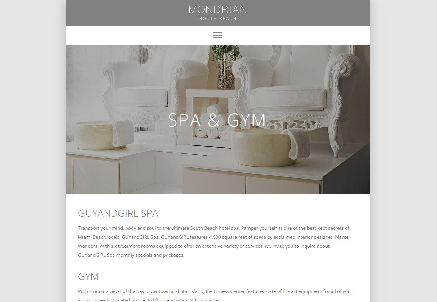 mondrian hotel design