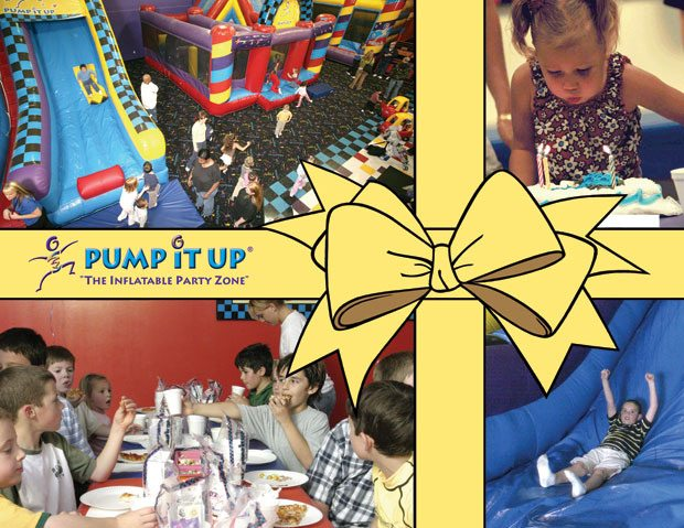 pump it up invitation and postcard designs daddy design