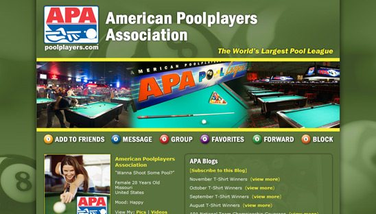 National Pool League | Daddy Design