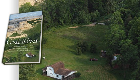 coal river book website design