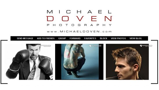 Michael Doven myspace design