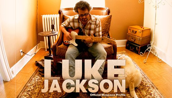 Luke Jackson Myspace design Myspace page
