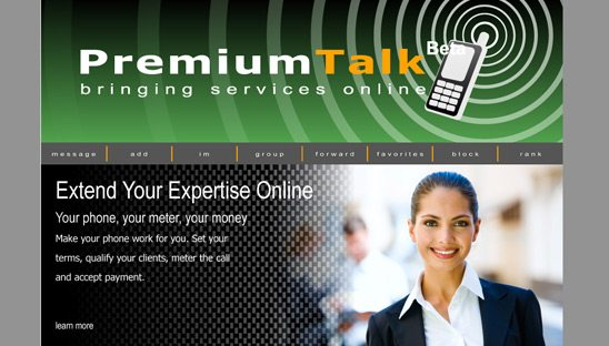 Premium Talk myspace design