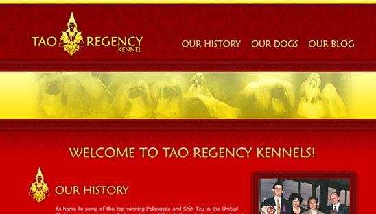 Tao Regency Wordpress web design site