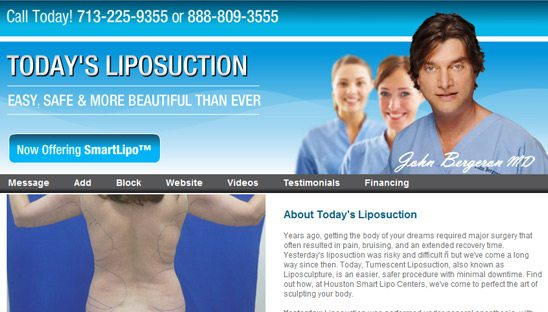 Texas Liposuction Dr. Bergeron Myspace page