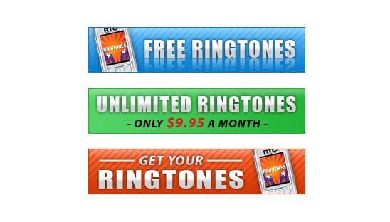 Mobilesidewalk Cellphone Banner Ad Designs