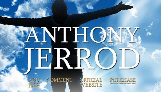 Anthony Jerrod Book Myspace Design
