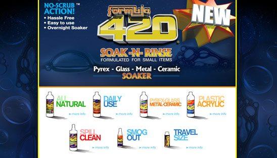 Formula 420 Myspace Design