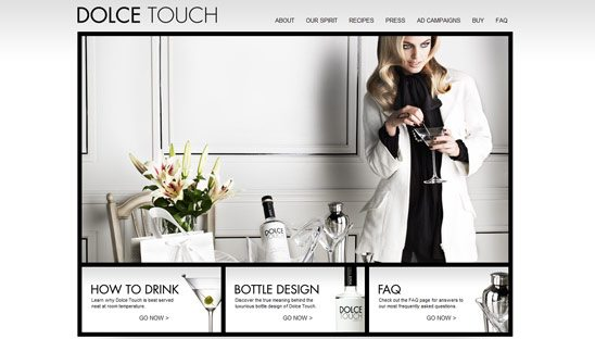 Dolce Touch Wordpress Design