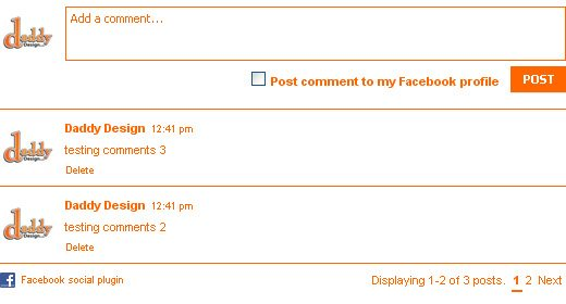 Step 8: Styling the Comment Navigation