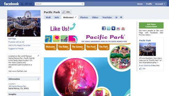 Facebook Tab Design