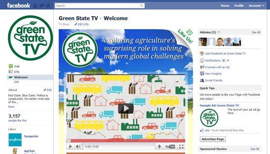 TV Facebook Design