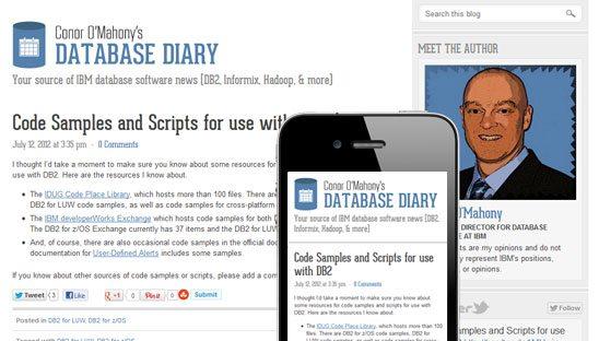 Responsive Blog Design