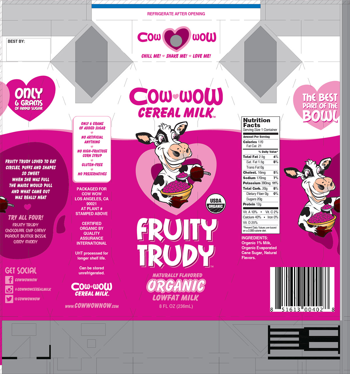 Print - Package Design - Fruity Trudy