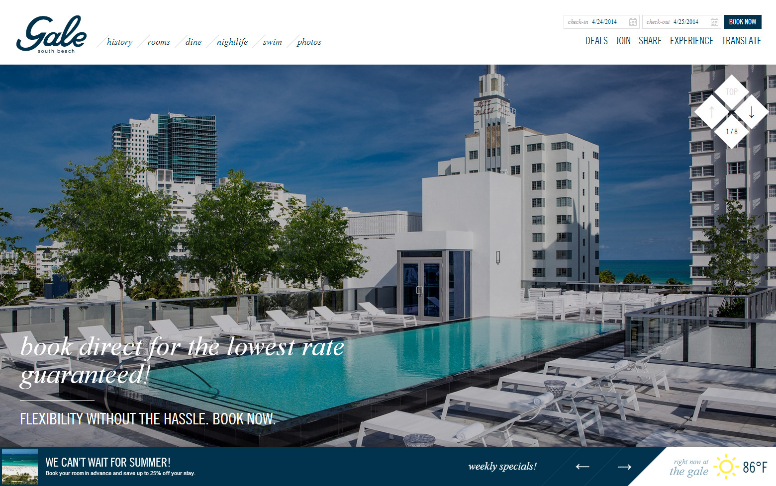 Gale Hotel South Beach Miami - MENIN Hospitality
