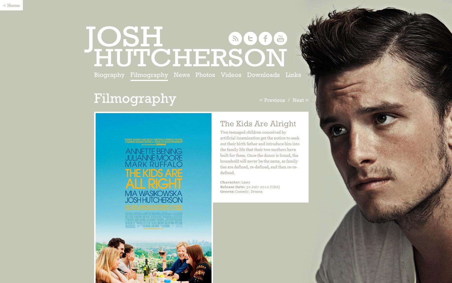 Filmography Single