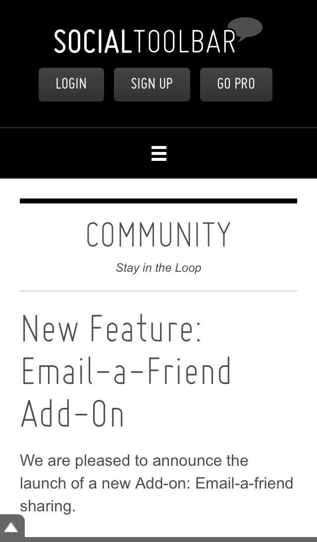 Community - Blog