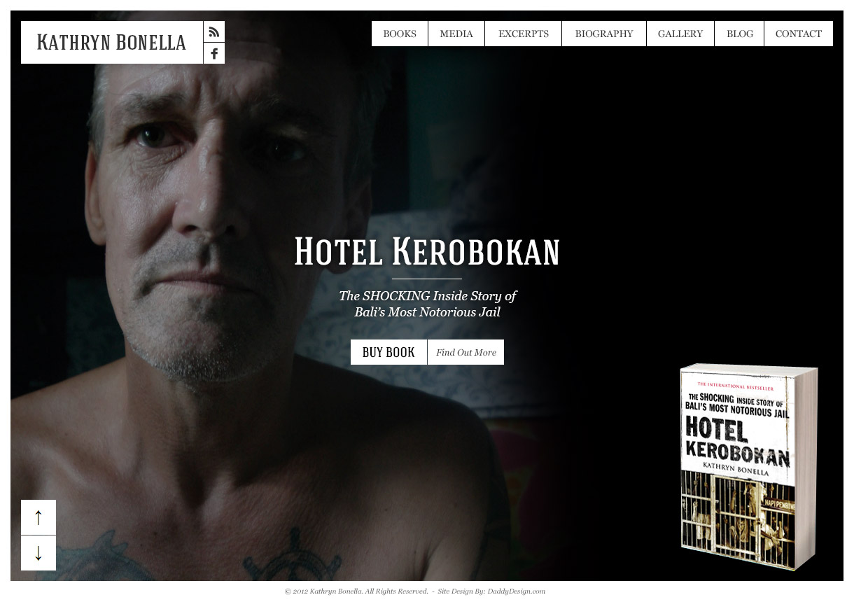 Author of best sellers Schapelle Corby, Snowing in Bali and Hotel Kerobokan