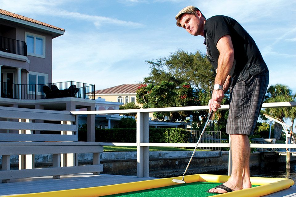 The World's First Sealed Air Portable Mini-Golf Course