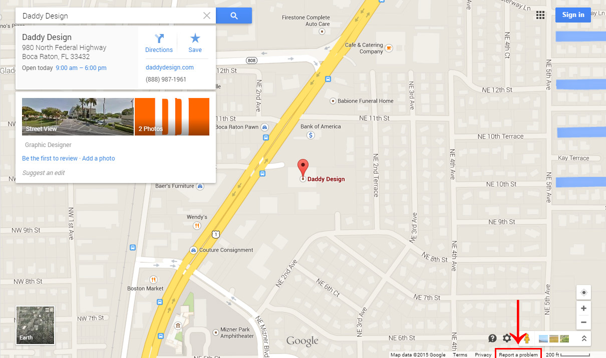 Fix-Google-Map-Marker-Step1 Gogal Maps on google moon, google voice, google map maker, google search, google earth, web mapping, satellite map images with missing or unclear data, google sky, google latitude, yahoo! maps, google mars, bing maps, bing maps platform, nokia maps, route planning software,
